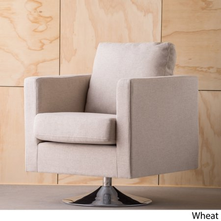 Christopher Knight Home Holden Modern Fabric Swivel Club Chair by