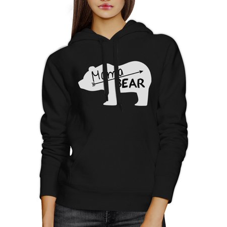 Mama Bear Unisex Black Cute Hoodie Unique Gift Ideas For New - Mother Day Craft Ideas