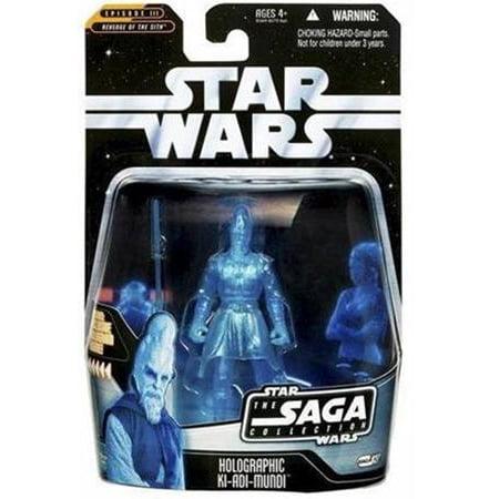 Star Wars Saga Collection 2006 Holographic Ki-Adi-Mundi Action Figure ()