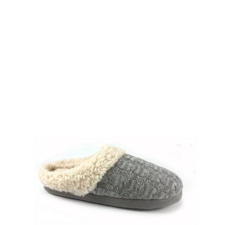 Secret Treasures Women's Plush Slippers Easy Slip-On