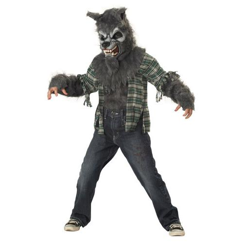 Howling at the Moon Werewolf Boys Costume size Medium 8-10