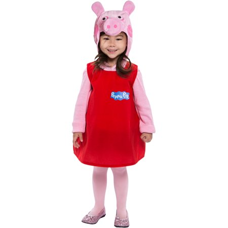 Peppa Pig Dress Toddler Costume - Pug Costumes For Kids