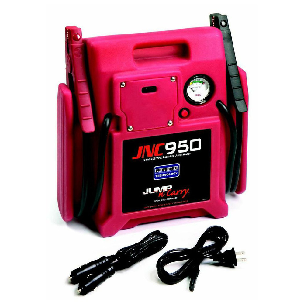 Clore Automotive JNC950 Jump-n-carry 2000 Peak Amp 12 Volt Jump Starter