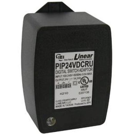 International Electronics PIP24VDCRU Plug-In 24Vdc,1A O/P W/Ar&Led (Electronics International)