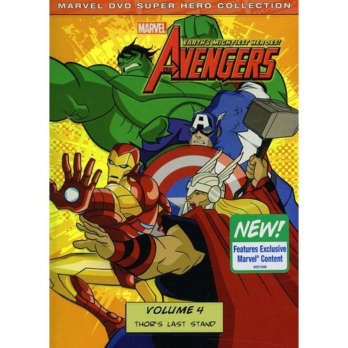 Marvel: The Avengers - Earth's Mightiest Heroes! Volume Four - Thor's Last Stand (Widescreen)