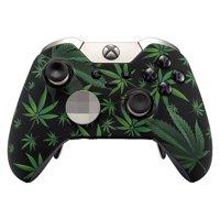 420 Black Xbox One ELITE UN-MODDED Custom Controller Unique Design