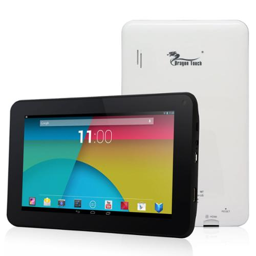"""Tablet Express 7"""" Quad Core Android Ips Tablet - Dragon Touch M7 7 Inch Quad Core Ips Tablet Pc - Google Android 4.4 Kitkat - 1gb Ram - 8gb Nand Flash - 7"""" 178 Degree View Ips 1024x600 Hd (m7_3)"""