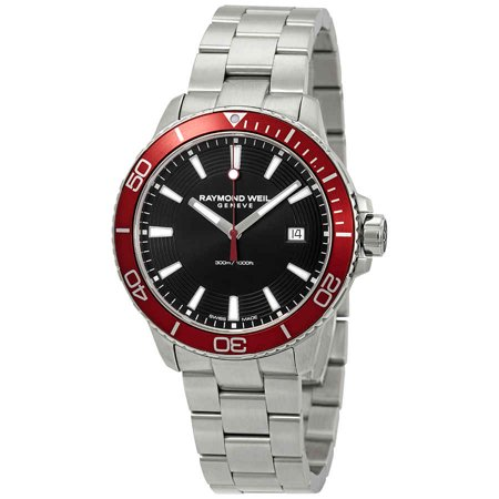 Raymond Weil Tango Black Dial Men's Watch 8260-ST4-20001