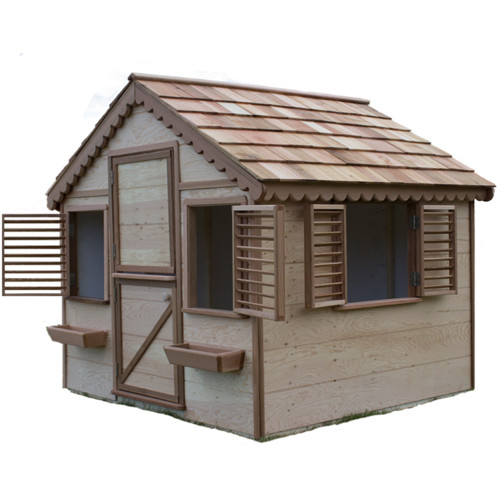 Canadian Playhouse Factory Little Alexandra Cottage Playhouse by