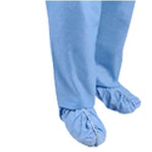 Heavy-Duty SMS Shoe Cover Universal, Fluid Resistant, Blue, Box of 100