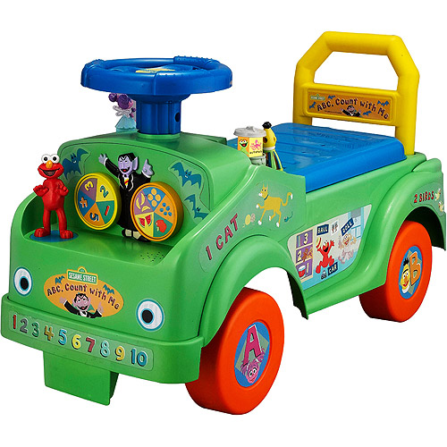 Sesame Street ABC Count with Me Elmo Ride-On