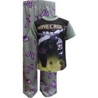 AME Sleepwear Boys' Minecraft Ender Dragon Pajamas Size 4
