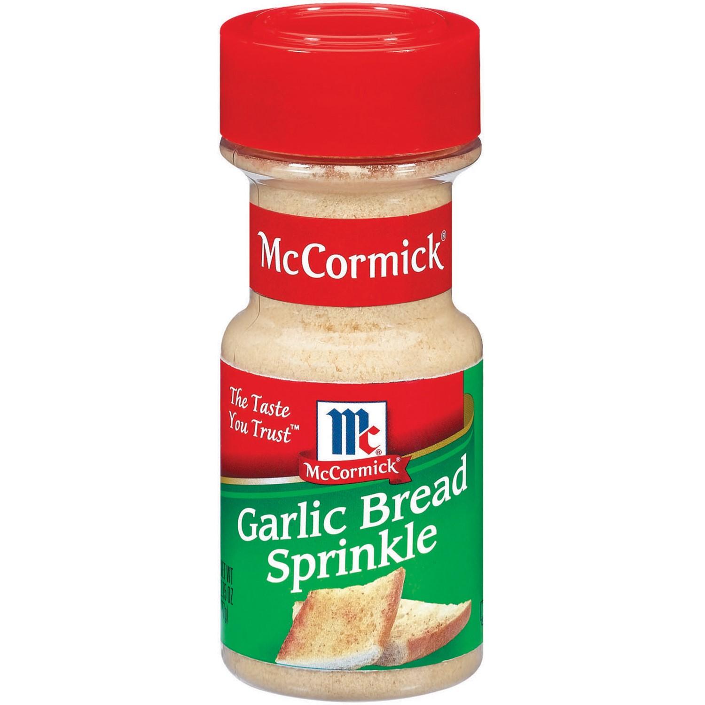 McCormick® Garlic Bread Sprinkle, 2.75 oz. Shaker