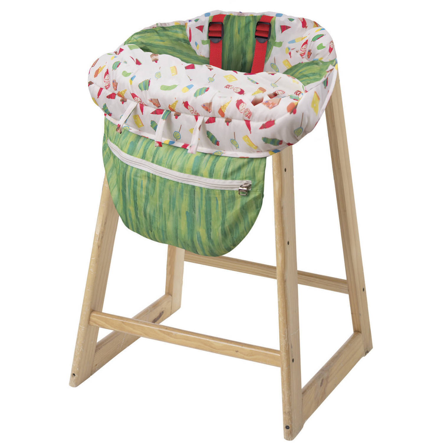 Eric Carle Shopping Cart and High Chair Cover by Eric Carle