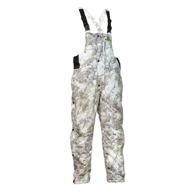 King's Camo Insulated Bibs Snow Shadow Weather Pro KCM2124-SS All Sizes by