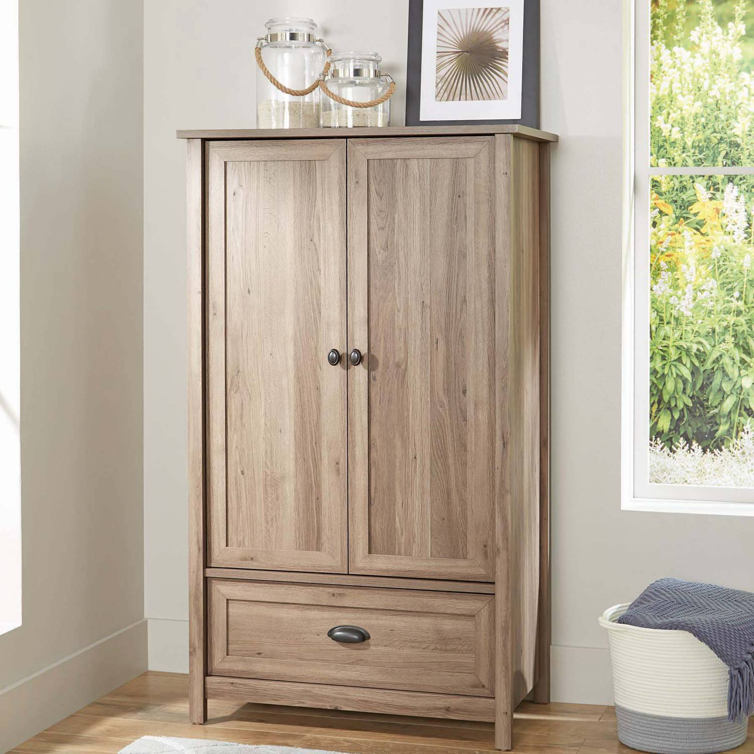 Better Homes and Gardens Lafayette Armoire, Multiple Finishes