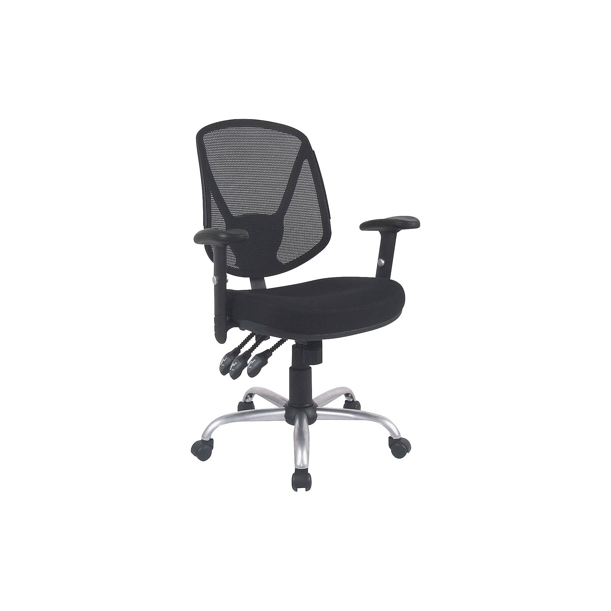 Staples Acadia Ergonomic Mesh Mid-Back Office Chair with ...