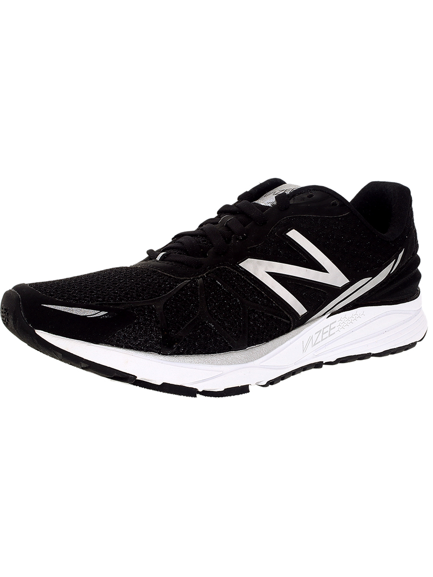 90d579f61e New Balance Men's Running Course Black/Silver/White Ankle-High Shoe - 11M