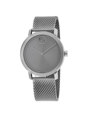 Movado Bold Grey Ion Mesh Mens Watch 3600561