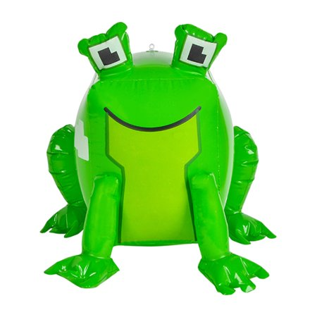 Inflatable Pixel Animal Frog Beach Swimming Pool Party Favor Toy
