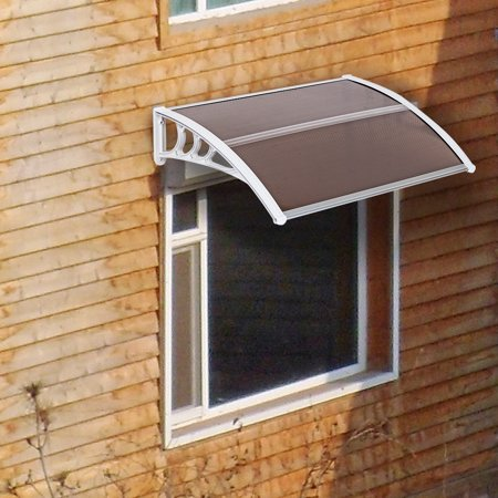 Zimtown Window and Front Door Patio Cover and Outdoor Awning (40