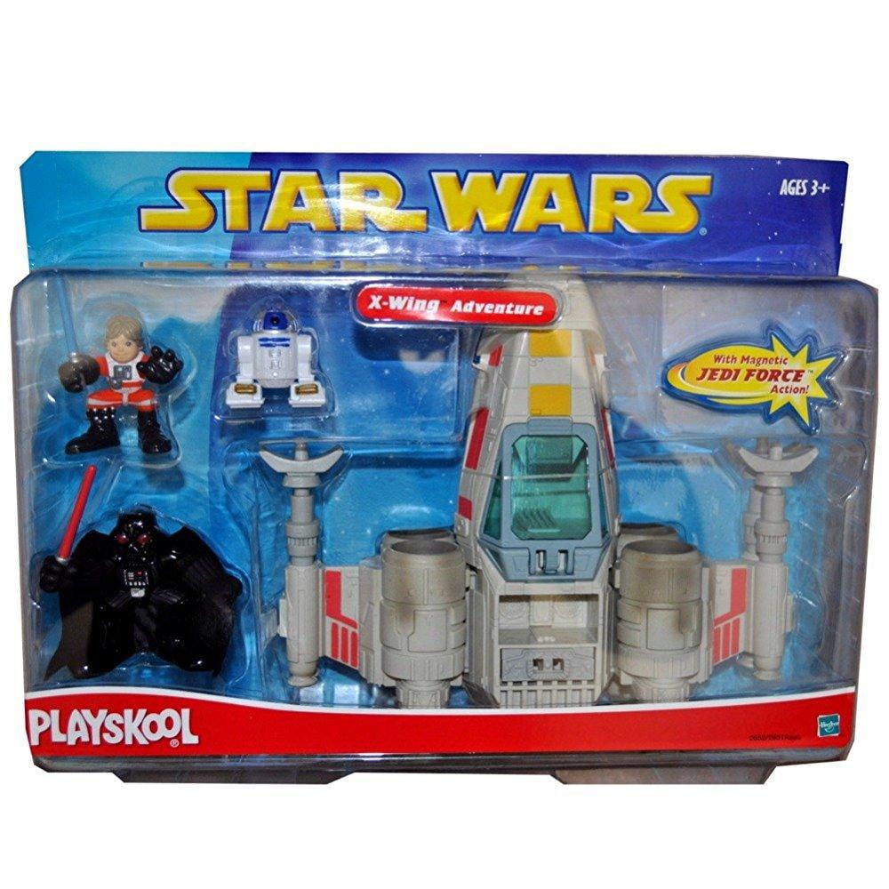 Star Wars Playskool Galactic Heroes X-wing Adventure by