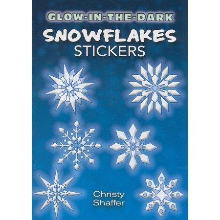 Glow In The Dark Snowflakes (Glow-In-The-Dark Snowflakes)