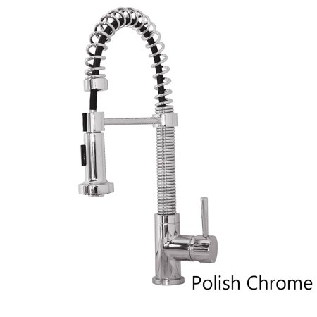 Virtu Usa  Arvia Psk 1008 Single Handle Kitchen Faucet In Brush Nickel Or Polish Chrome