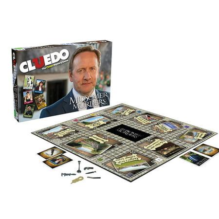 Midsomer Murders Cluedo Board Game   Classic Clue Adaptation