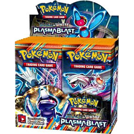 Pokemon Black & White Plasma Blast Booster Box (Pokemon Black And White 2 Team Plasma Theme)