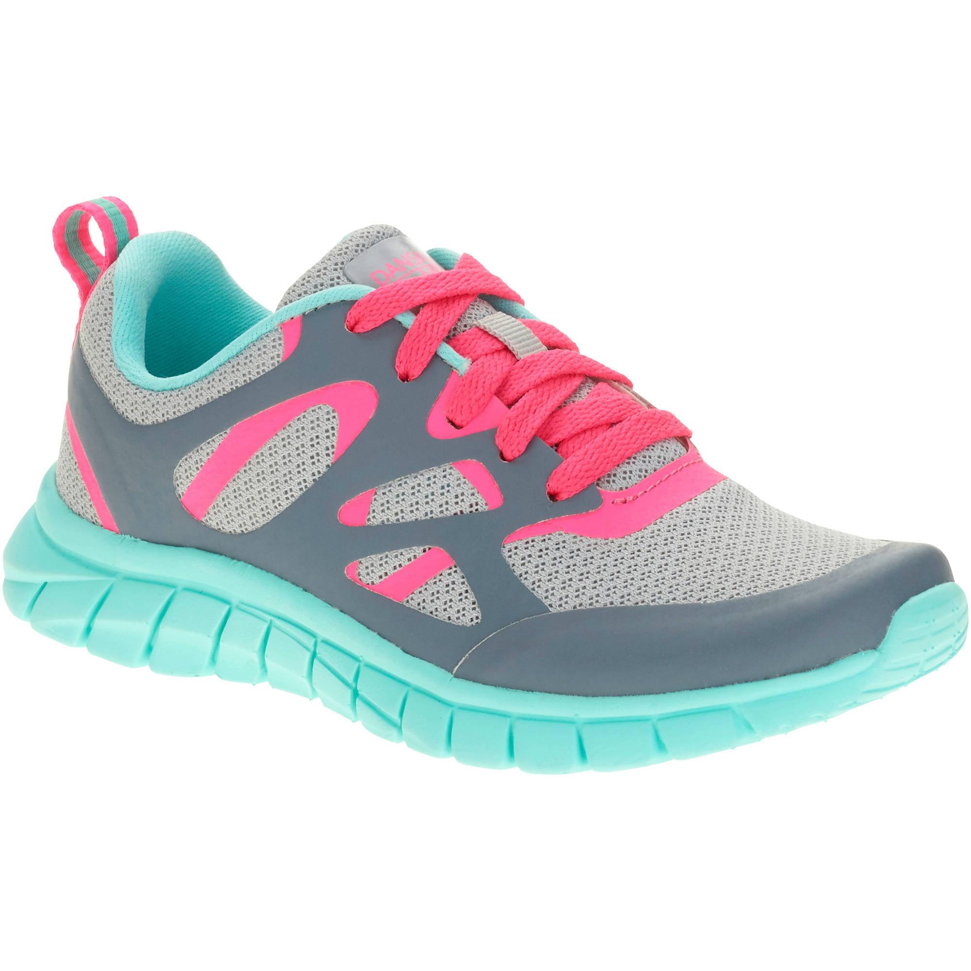 Danskin Now Girls' Athletic Overlay Shoe by
