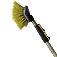 """DocaPole 5-12 Foot Hard Bristle Brush Extension Pole 