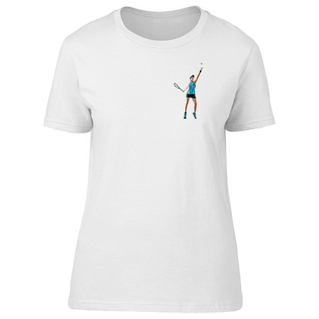 Ladies Player Series (Cool Tennis Player Woman Tee Women's -Image by)