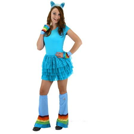 My Little Pony Rainbow Dash Costume Hoofwarmer Kit (My Little Pony Costume For Sale)