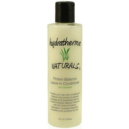 Hydratherma Naturals Protein Balance Leave-In Conditioner 8 (Protein Treatment For Natural Hair With Egg)