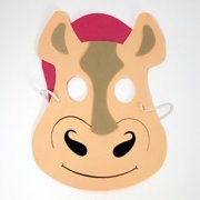 Farm Animal Mask- Horse, One Size