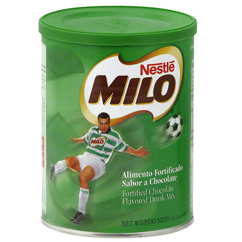 ***Discontinued by Kehe 11_4***Nestle Milo Fortified Chocolate Flavored Drink Mix, 14.1 oz (Pack of 6)