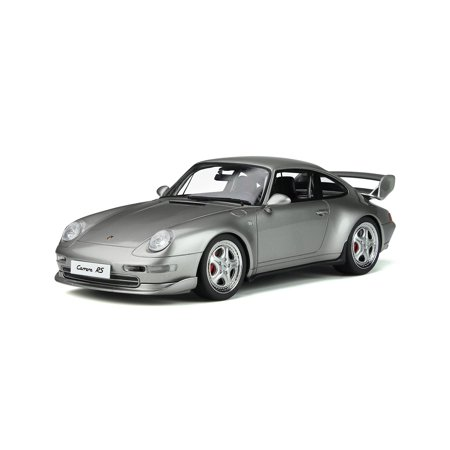 Porsche 911 Carrera RS Club Sport Arctic Silver Limited Edition to 999 pieces Worldwide 1/18 Model Car by GT Spirit
