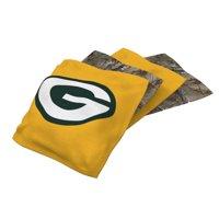 Green Bay Packers 4-Pack Realtree Cornhole Bean Bags Set - No Size