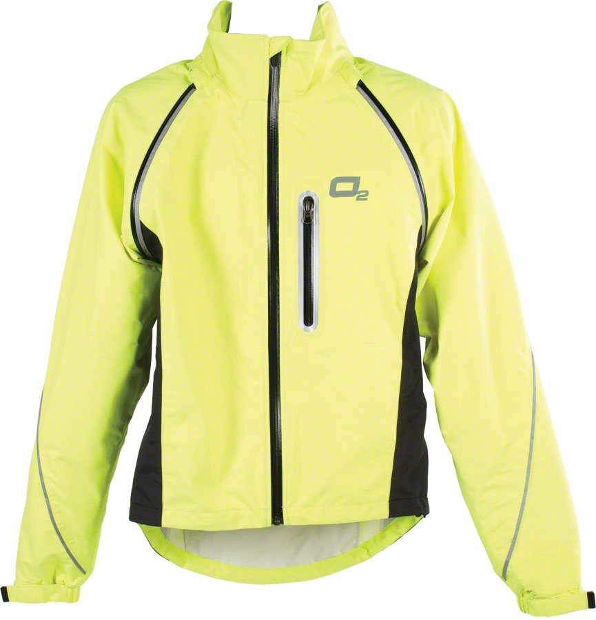 O2 Nokomis Rain Jacket: Yellow 2XL