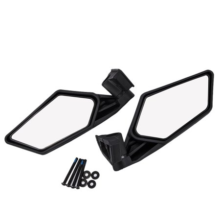 2PCs Rear View Glass Mirrors Race Racing Mirrors for Can-Am Maverick X3 2017 2018 - image 2 of 7