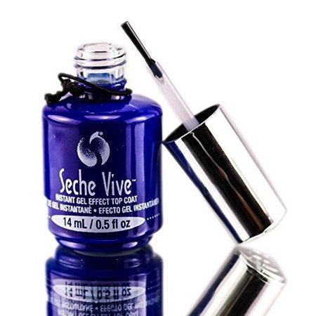 - SECHE Vive Instant Gel Effect Top Coat