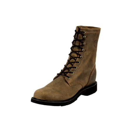 Justin Work Boots Mens Western Laced Steel Toe Ultrathotic