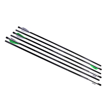 Benjamin Pioneer Airbow 100% Carbon Arrow 6-Pack, includes 6 field tips