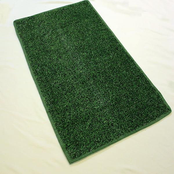 Koecritz Green Black Economy Turf / Artificial Grass |Light Weight Indoor Outdoor Turf Rug