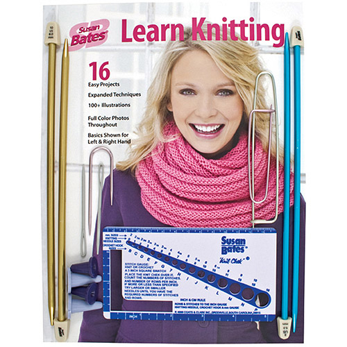 Susan Bates Learn Knitting Kit