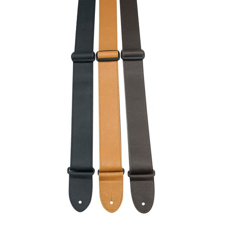 perri 39 s 2 italian soft leather guitar strap with. Black Bedroom Furniture Sets. Home Design Ideas