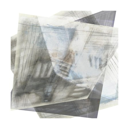 Faceted Art (Faceted Illusion II Print Wall Art By Jennifer Goldberger)