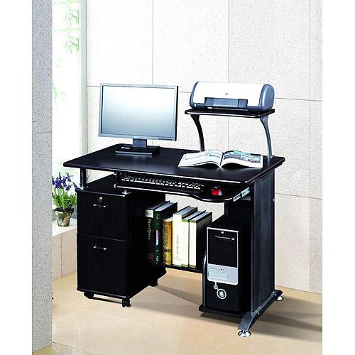 Comfort Products Rothmin Computer Desk with Storage Cabinet