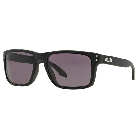 Oakley Men's Holbrook Performance Lifestyle Non Polarized Sunglasses,Matte Black (Oakley Two Face Clear Lenses)